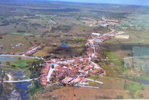 Vista aérea da cidade de Passagem.